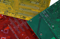 Computers circuit board Royalty Free Stock Photo