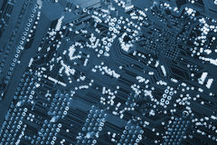 Computers circuit-board Stock Image