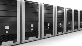 Computers (het knippen inbegrepen weg) Royalty-vrije Stock Afbeeldingen