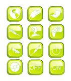 Computers icons vector Stock Photo