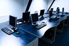 Computers room Stock Photography