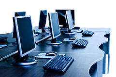 Computers room Stock Images