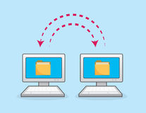 Computers Sync Arrows Stock Photos