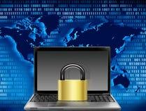 Computersicherheit lizenzfreie abbildung