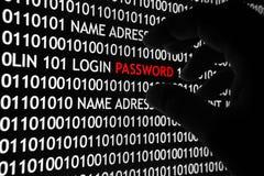 Computersicherheitskonzept Lizenzfreies Stockfoto