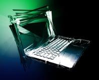 Computerstörzusammenbruch Lizenzfreie Stockfotografie