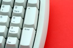 Computertastatur Stockbild