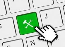 Computertastatur mit Hilfsmitteltaste Lizenzfreie Stockfotos