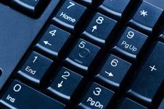 Computertastatur numpad Stockbilder