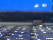 Computertastatur und -schirm Lizenzfreie Stockfotografie