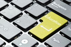 Computertastaturknopf Lizenzfreies Stockbild