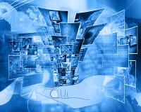 Computertechnologie Stock Afbeeldingen
