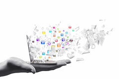 Computertechnologie Royalty-vrije Stock Foto