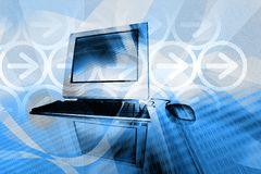 Computertechnologie Royalty-vrije Stock Fotografie