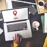 Computertechnologie-Arbeits-Internet-Konzept lizenzfreie stockbilder
