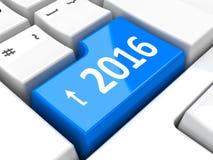 Computertoetsenbord 2016 #4 Royalty-vrije Stock Foto's