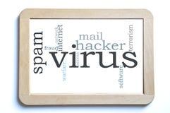 Computervirus Stockbild