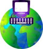 Computerwelt Stockbild