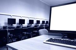 Computerzaal stock fotografie