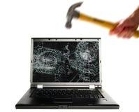 Computerzertrümmern Lizenzfreies Stockfoto