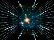 Computing Abstraction Stock Image