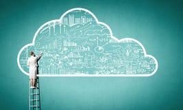 Computing cloud Stock Image