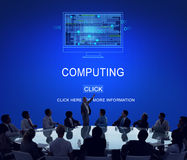 Computing Computer Digital Information Memory Concept Royalty Free Stock Images