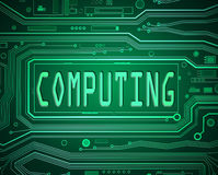 Computing concept. Stock Image
