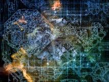 Computing Connection Stock Photo