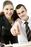 Computing Couple Stock Images