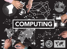 COMPUTING (data Computer Digital Memory) stock images