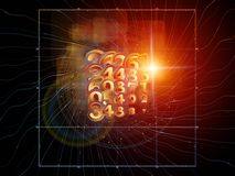 Computing Geometry Stock Photo