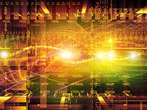 Computing Oscillation Stock Photography
