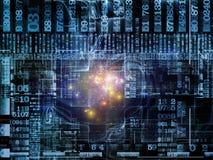 Computing Technology Links Royalty Free Stock Photo