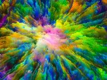 Computing Virtual Canvas Royalty Free Stock Images