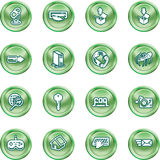 Computing and Website Icons Stock Photography