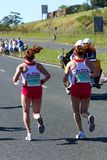 Comrades Marathon 2010 - Ladies top two Stock Photography