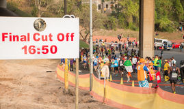 Comrades Marathon Final Cut Off Royalty Free Stock Photography