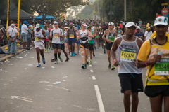 Comrades Marathon Runners Group Stock Photos