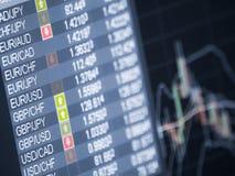 Comércio do dinheiro Imagens de Stock