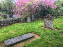 Comrie Farnego kościół cmentarz fotografia stock