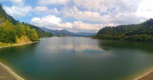 Comté de Bistrita-Nasaud de lac Colibita, Roumanie Images libres de droits