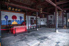 Comté de reconstruction du comté de Hubei Badong Photo stock