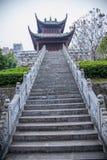 Comté de reconstruction du comté de Hubei Badong Images libres de droits
