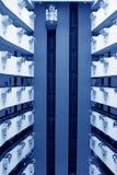Paysage moderne d'ascenseur dans commerçants hôtel, Chine Images libres de droits
