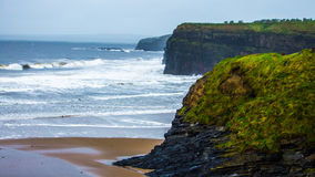 Comté Kerry Ireland de plage de Ballybunion Images stock