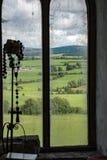 COMTÉ OFFALY, IRLANDE - 23 AOÛT 2017 : Le château de saut est l'un des châteaux les plus hantés en Irlande Photographie stock libre de droits