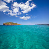 Comte Conta Cala in Sant Josep of Ibiza at balearic Stock Images