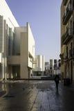 Comtemporania konstmuseum i Barcelona Royaltyfria Foton