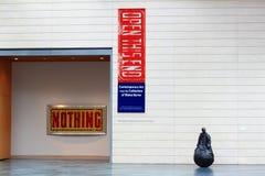 Comtemporary Art Display. At Nasher Museum of Art, Duke University Royalty Free Stock Photos